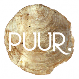 Logo van PUUR in marketing